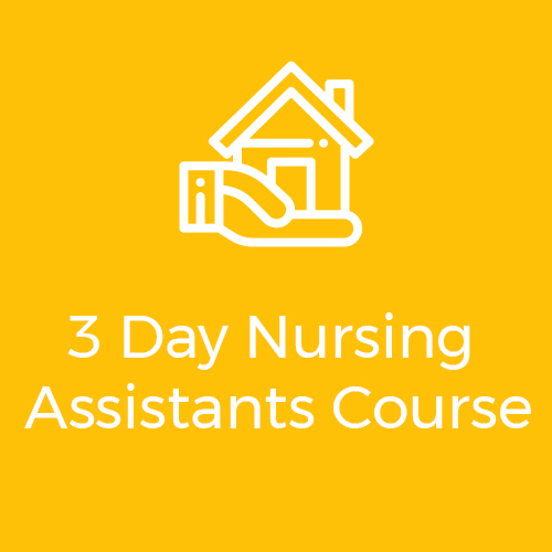 3 day nursing assistants course