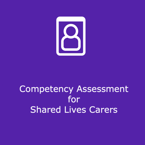 Competency Assessment for Shared Lives