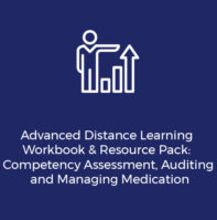 competency assessment, auditing and managing medication workbook and resource pack